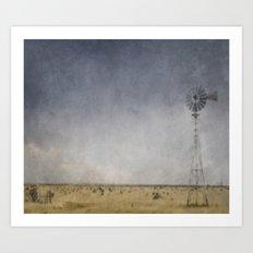 Lost Windmill Art Print