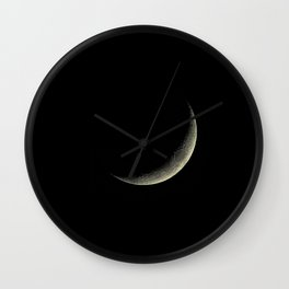 The Crest of the Moon Wall Clock