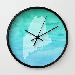 Sweet Home Maine Wall Clock