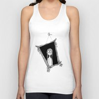 mirror Tank Tops featuring Mirror by Andrew Mark Pickin