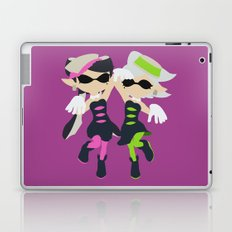 Callie & Marie (Pink) - Splatoon Laptop & iPad Skin