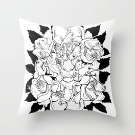 Fairy Tale #1 (Kissed by a Prince) Throw Pillow