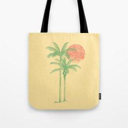 bye bye beach Tote Bag