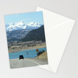 Colorado Mountain Lake Stationery Cards