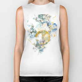 Nature's Call - Abstract Painting III Biker Tank