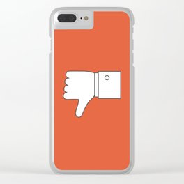 Thumbs down - Influencer Clear iPhone Case