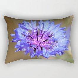 Blue Cornflower by Reay of Light Rectangular Pillow