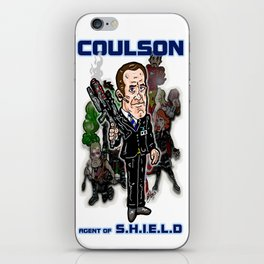 "Agents of S.H.I.E.L.D.: Agent Phil Coulson, The Avengers ""Handler"" iPhone Skin"