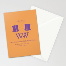 Welcome to Weasley Wizard Wheezes Stationery Cards