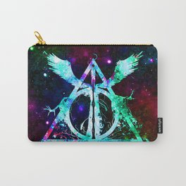 Shine Of Deathly Hallows Carry-All Pouch