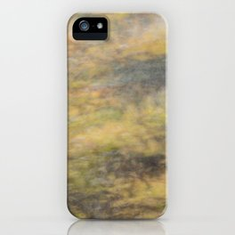 blurred perception of nature #4 iPhone Case
