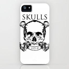 Skulls 2018 iPhone Case