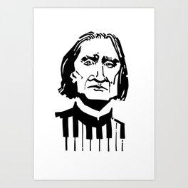 Liszt Art Print