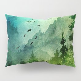 Mountain Morning Pillow Sham