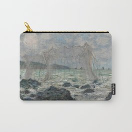Fishing nets at Pourville Carry-All Pouch