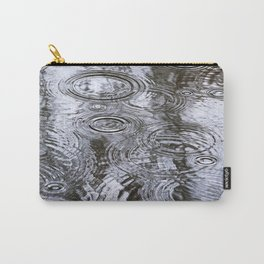 Abstract Raindrops Carry-All Pouch