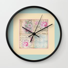 Shabby Chic 2 Wall Clock