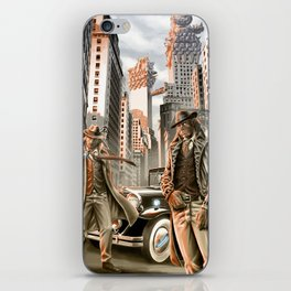 Detectives from other worlds iPhone Skin