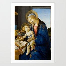 Sandro Botticelli - The Virgin and Child, 1480 Art Print