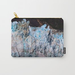 Blue Jeweled Glacier Carry-All Pouch