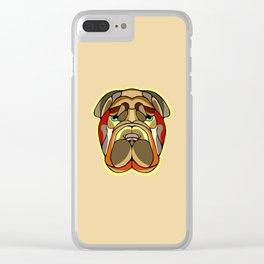 Shar Pei Dog Clear iPhone Case