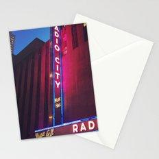 Radio City, New York Stationery Cards