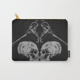 """""""Skull in Love"""" Carry-All Pouch"""