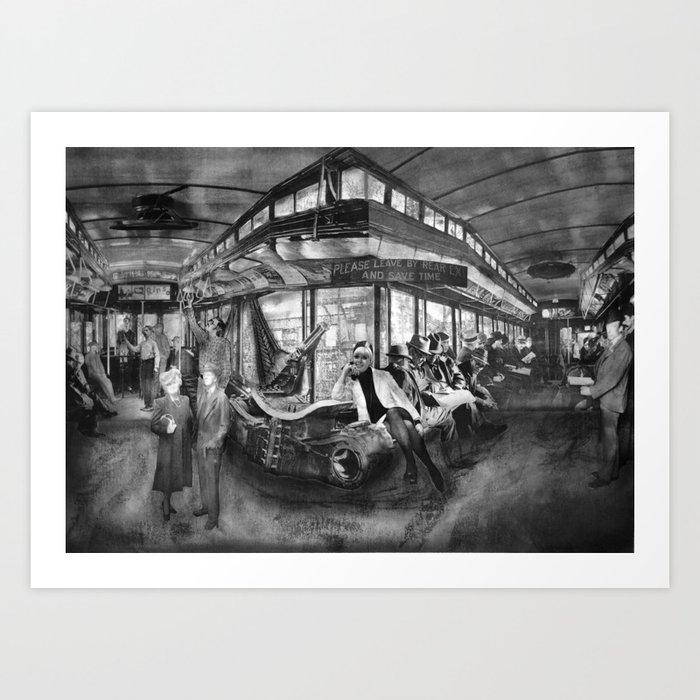 The Hopper: Interior Art Print