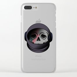 starman helmet Clear iPhone Case