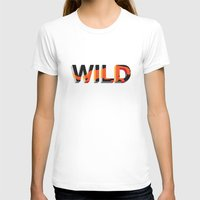 into the wild T-shirts featuring wild by Lasse Egholm