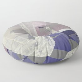 Glass Chess POV Ray Tracing Floor Pillow