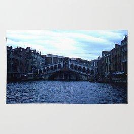 Rialto Bridge * 1950's * Italy * Kodachrome * Vintage Color Photo * Venice Rug