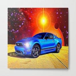 2012 Mustang GT Metal Print