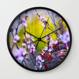 """The Mind Replays What the Heart Can't Delete"" Wall Clock"