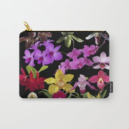 Orchids Galore Carry-All Pouch