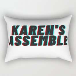 Karen's Assemble  Rectangular Pillow