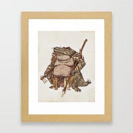 Gatorman Framed Art Print