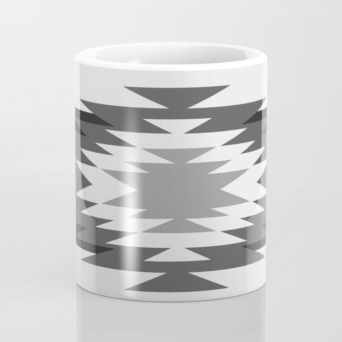 Aztec - black and white Coffee Mug