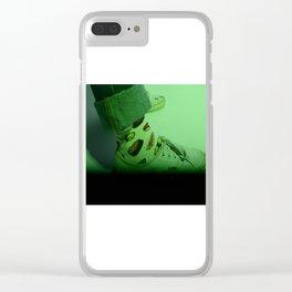 sushi socks Clear iPhone Case