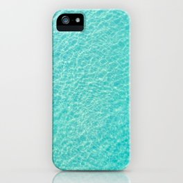 Swimming And Surfing In Manhattan Beach iPhone Case