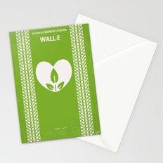 No235 My WALL-E minimal movie poster Stationery Cards