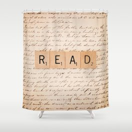 Bookaholic Shower Curtain
