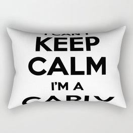 I cant keep calm I am a CARLY Rectangular Pillow