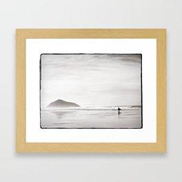 Morning Surf, near Tofino, BC, Canada Framed Art Print