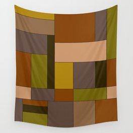 Abstract #370 Mondrian #6 Wall Tapestry
