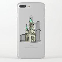Kaiser Wilhelm Memorial Church Clear iPhone Case