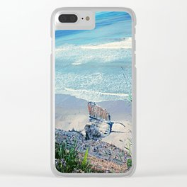 Tusan Beach 2 Clear iPhone Case