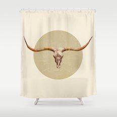 Longhorn  Shower Curtain