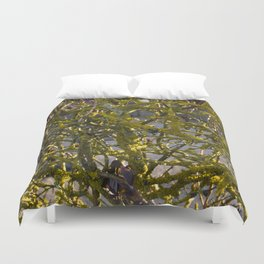 Moss in the Spring Duvet Cover