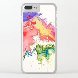 In the Heart of the Mountain Clear iPhone Case